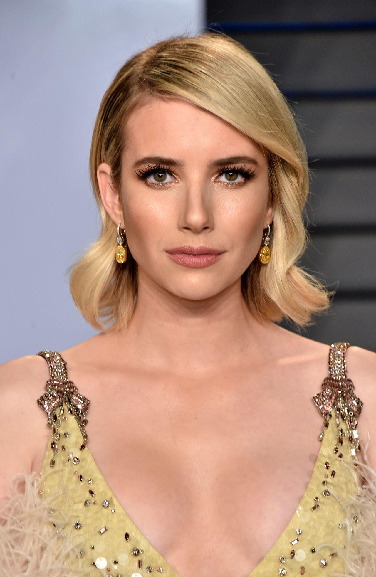 Emma Roberts – 2018 Vanity Fair Oscar Party in Beverly Hills Emma Roberts