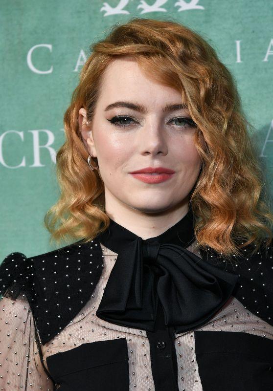 Emma Stone – 2018 Women in Film Pre-Oscar Cocktail Party in LA