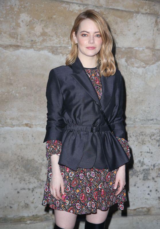 Emma Stone - Paris Fashion Week Womenswear FW18