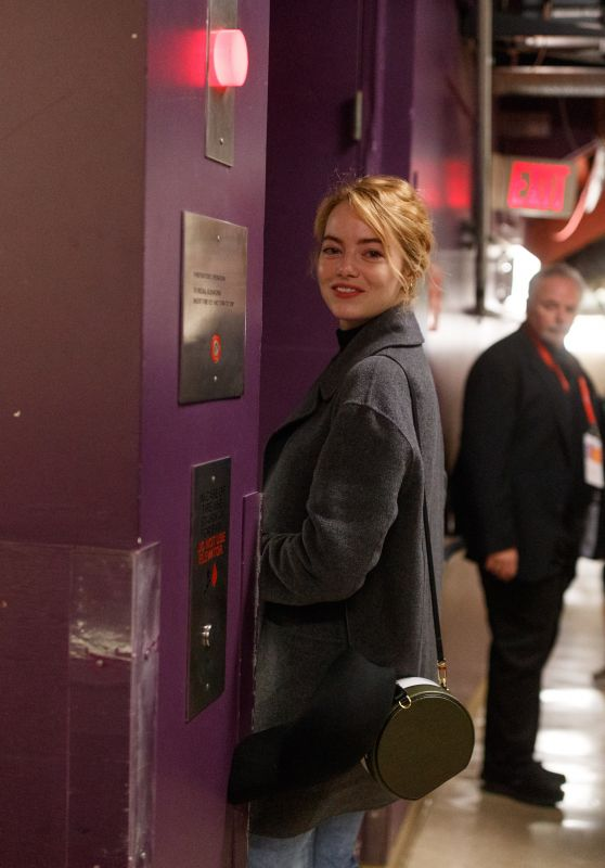 Emma Stone - Rehersals for the 90th Oscars in Hollywood