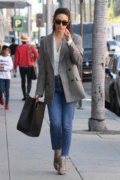 Emmy Rossum Looks Stylish - Pressed Juicery in Beverly Hills 03/08/2018