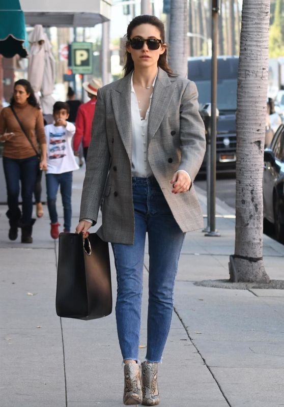 Emmy Rossum Looks Stylish - Pressed Juicery in Beverly Hills 03/08/2018
