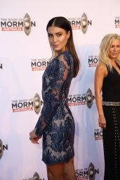 Erin Holland – The Book Of Mormon Opening Night in Sydney 03/09/2018