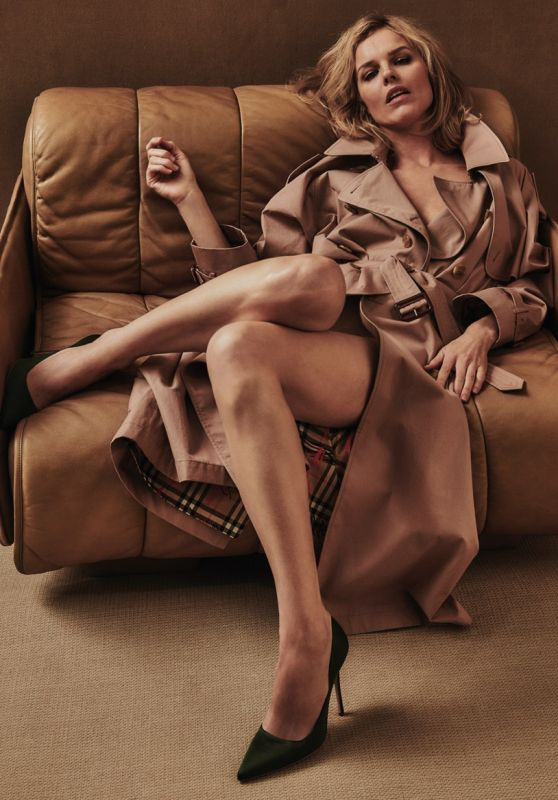 Eva Herzigova - Photoshoot for Vogue Magazine Poland, April 2018