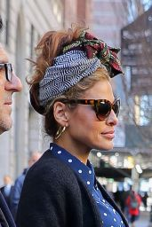 Eva Mendes Street Fashion - New York 03/19/2018