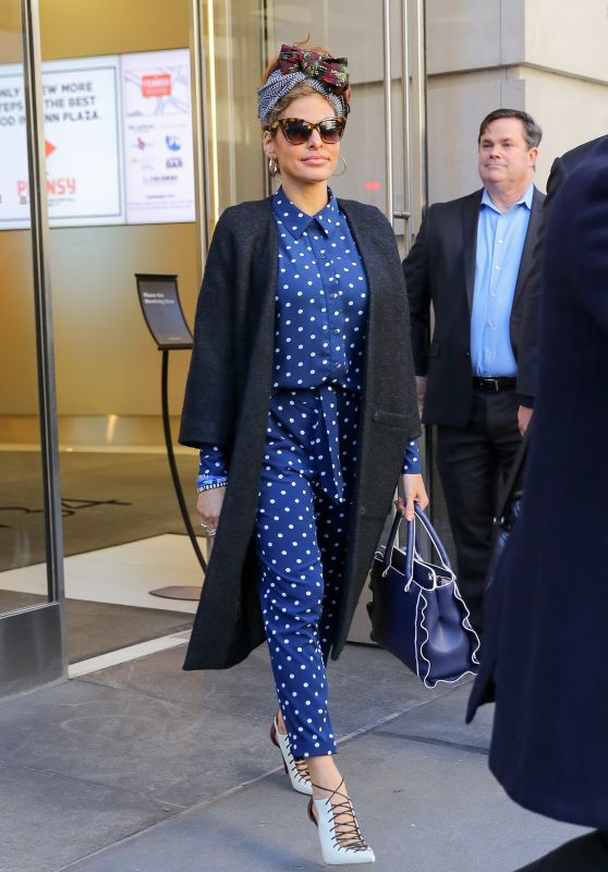 Eva Mendes Street Fashion - New York 03/19/2018