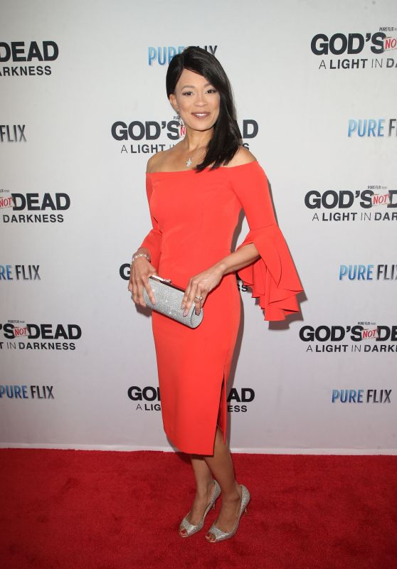 "Fanchon Stinger – ""God's Not Dead: A Light in Darkness"" Premiere in LA"