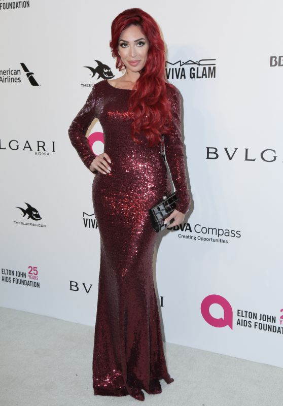 Farrah Abraham – Elton John AIDS Foundation's Oscar 2018 Viewing Party in West Hollywood