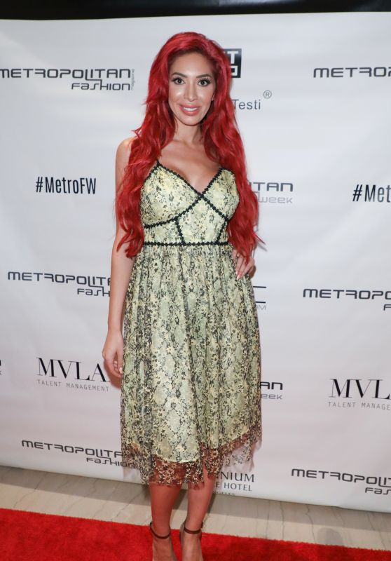 Farrah Abraham - Metropolitan Fashion Week in LA 03/29/2018