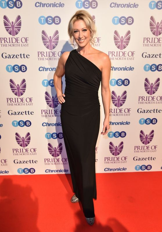 Faye Tozer – 2018 Pride Of The North East Awards in Newcastle