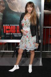 "Fernanda Romero – ""Tomb Raider"" Premiere in Hollywood"