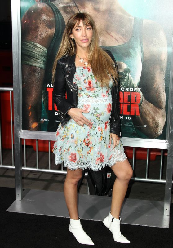 "Fernanda Romero – ""Tomb Raider"" Premiere in Hollywood"