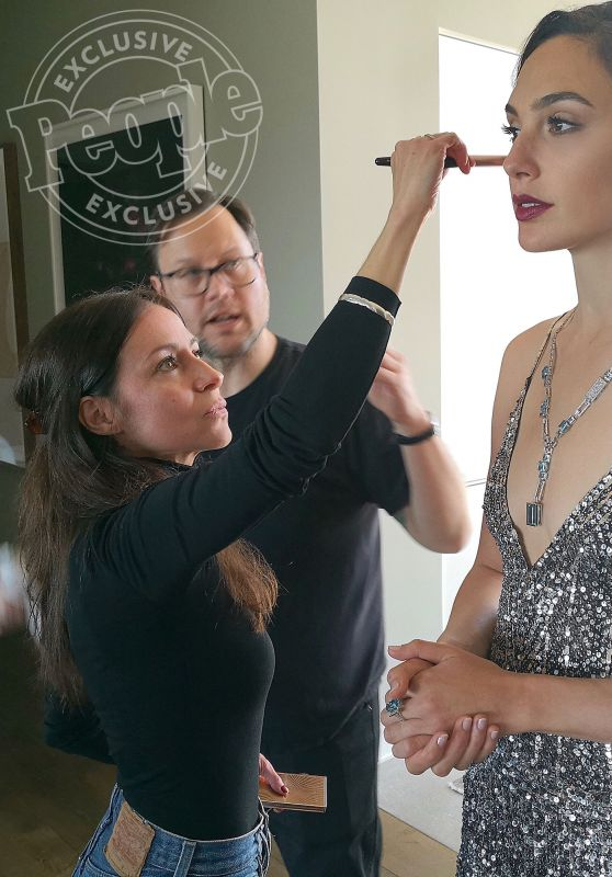 Gal Gadot - 90th Annual Academy Awards Backstage Photoshoot