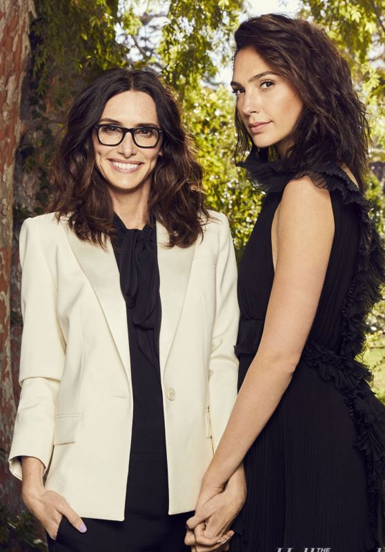Gal Gadot and Elizabeth Stewart - Photoshoot for The Hollywood Reporter March 2018