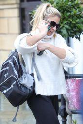Gemma Atkinson - Leaving Key 103 Radio Station in Manchester 03/12/2018