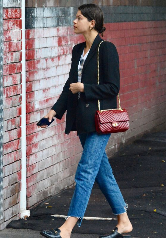 Georgia Fowler - Heading to a Photoshoot in Sydney 03/13/2018