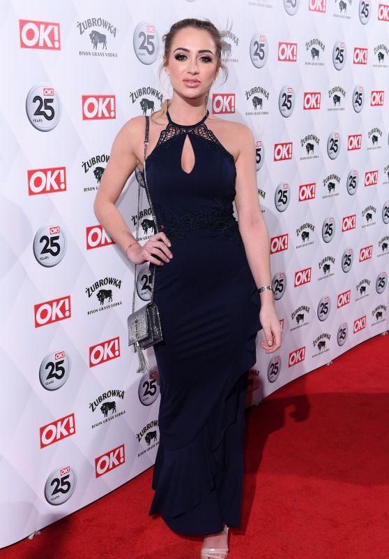 Georgia Harrison – OK! Magazine's Party in London 03/21/2018
