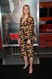 "Georgia King – ""Tomb Raider"" Premiere in Hollywood"