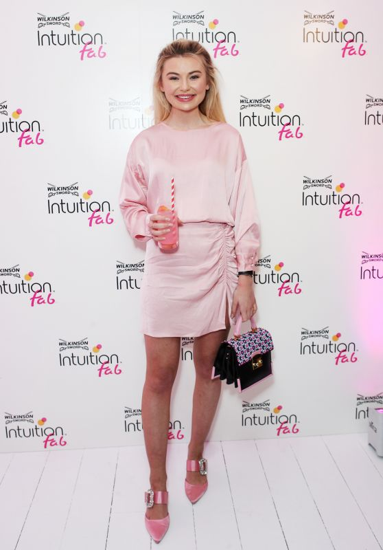 Georgia Toffolo - Wilkinson Sword Intuition Launch Party in London