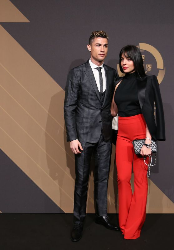 "Georgina Rodriguez and Cristiano Ronaldo - ""Quinas de Ouro"" 2018 Ceremony in Lisbon"