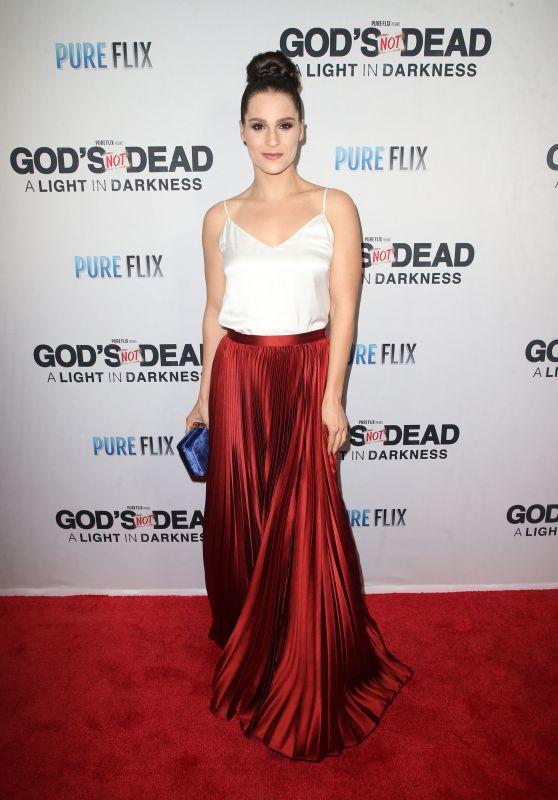 """Gianna Simone – """"God's Not Dead: A Light in Darkness"""" Premiere in LA"""