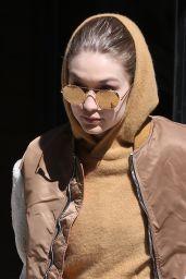 Gigi Hadid Street Style - New York City 03/19/2018