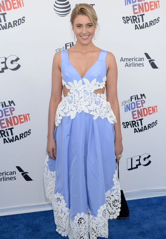 Greta Gerwig – 2018 Film Independent Spirit Awards in Santa Monica