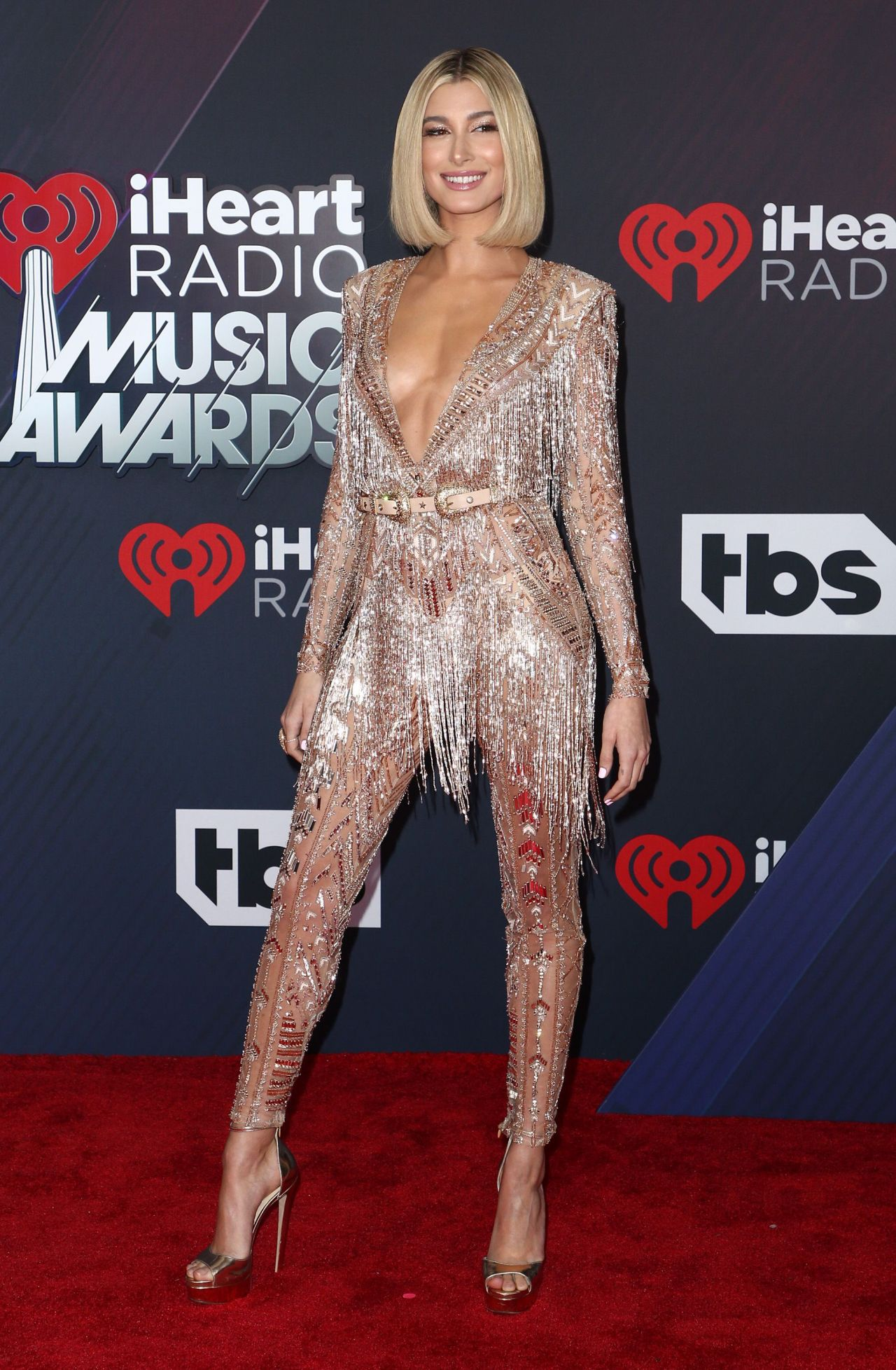 Hailey Baldwin 2018 IHeartRadio Music Awards In Inglewood