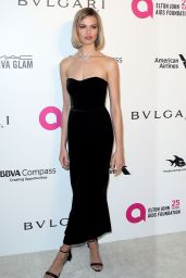 Hailey Clauson – Elton John AIDS Foundation's Oscar 2018 Viewing Party in West Hollywood