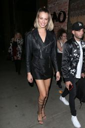 Hailey Clauson - TAO steakhouse in Beverly Hills 03/06/2018