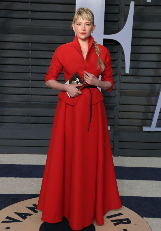 Haley Bennett – 2018 Vanity Fair Oscar Party in Beverly Hills
