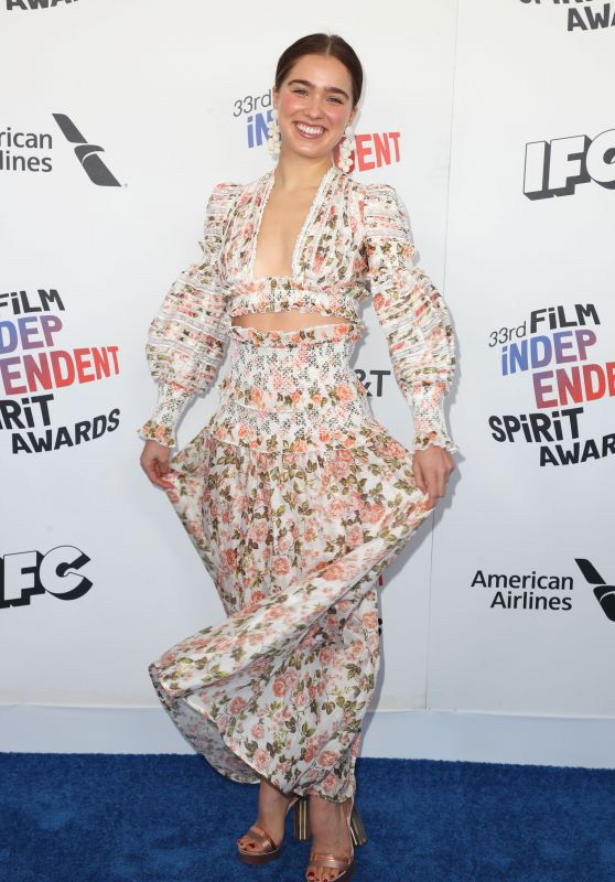 Haley Lu Richardson - 2018 Film Independent Spirit Awards in LA