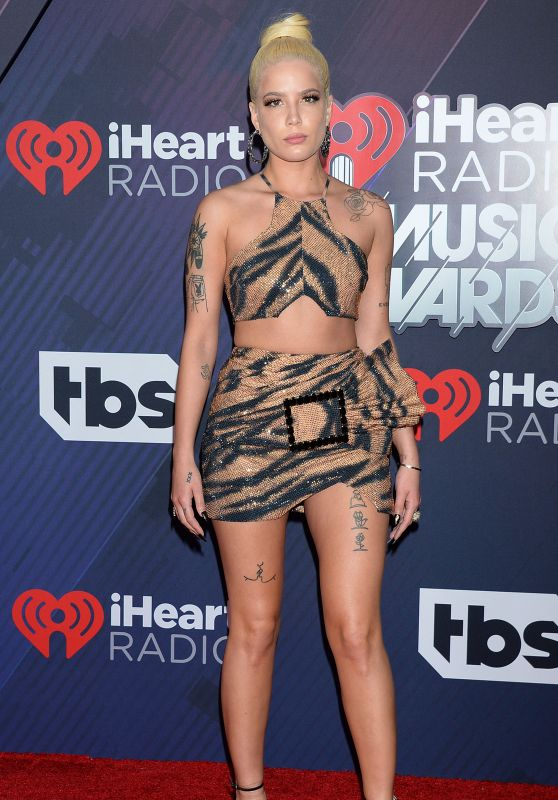 Halsey – 2018 iHeartRadio Music Awards in Inglewood