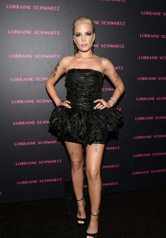 Halsey – Lorraine Schwartz Eye Bangles Collection Launch