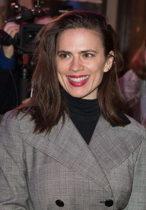 Hayley Atwell - Good Girl Press Night in London