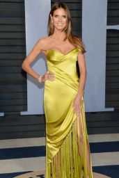 Heidi Klum – 2018 Vanity Fair Oscar Party in Beverly Hills
