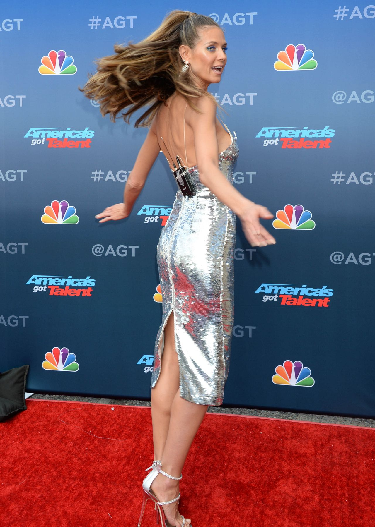Heidi Klum Americas Got Talent Event In LA 03122018