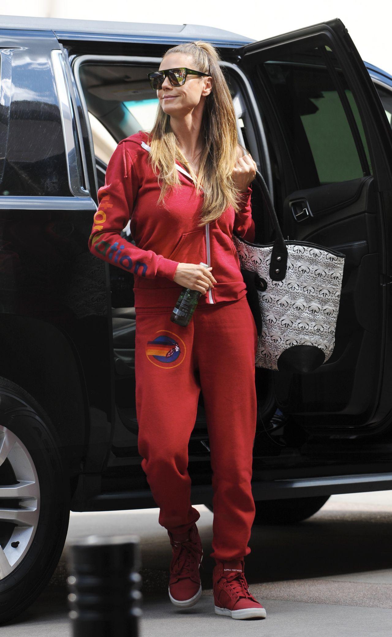 Heidi Klum Arriving For The Quot Americas Got Talent