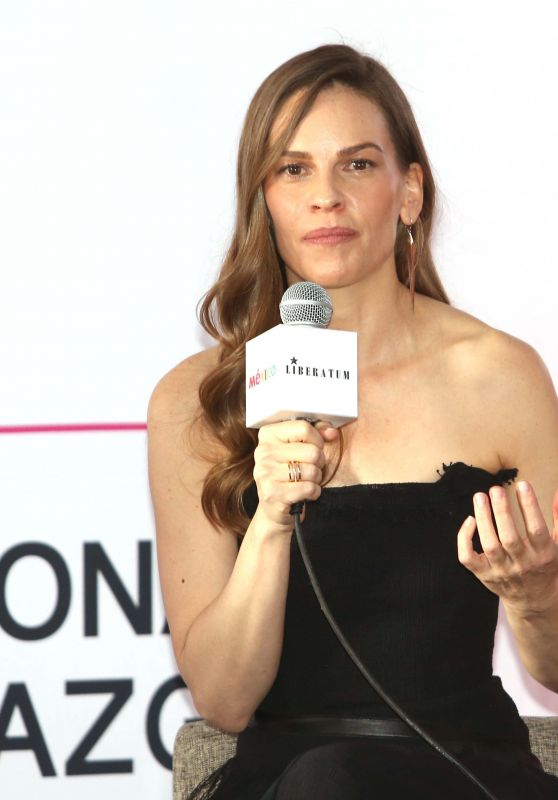 """Hilary Swank - """"Liberatum"""" International Festival of Culture and Leadership in Mexico City"""
