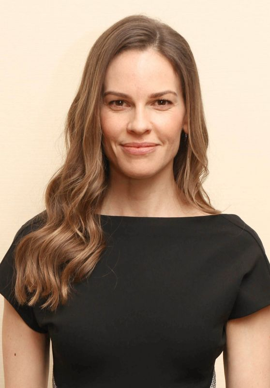 """Hilary Swank - """"Trust"""" Press Conference in NY"""