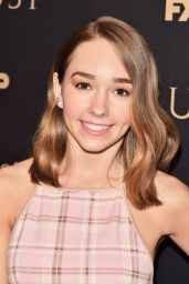 Holly Taylor – 2018 FX All-Star Party in NY