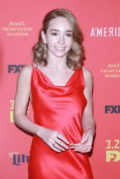 """Holly Taylor – """"The American's' TV Show Premiere in NY"""