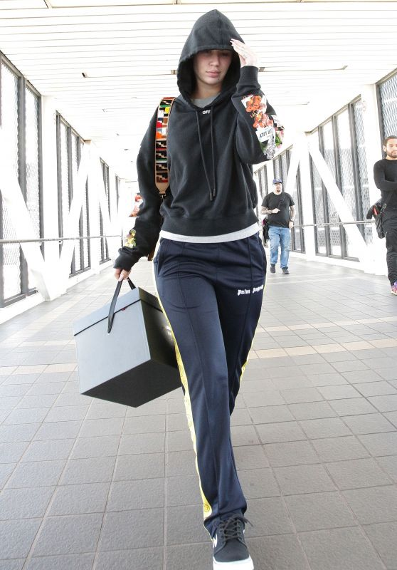 Iggy Azalea at LAX International Airport in LA 03/19/2018