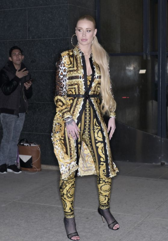 Iggy Azalea at WWHL in Manhattan 03/18/2018