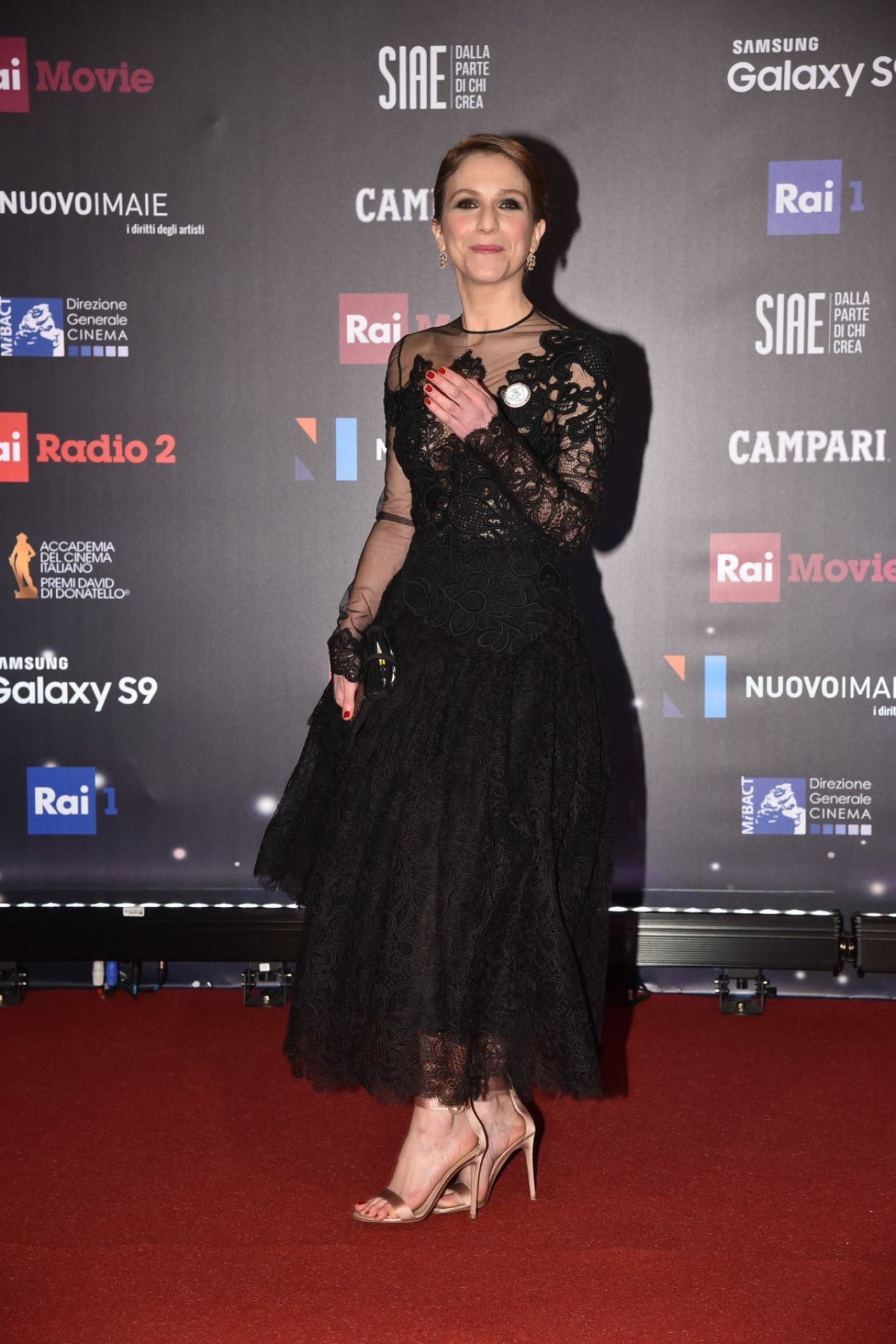 Isabella Ragonese – 2018 David di Donatello Awards Red ...