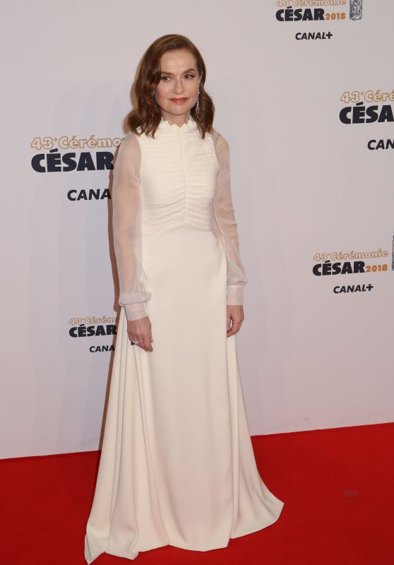 Isabelle Huppert – Cesar Film Awards 2018 in Paris