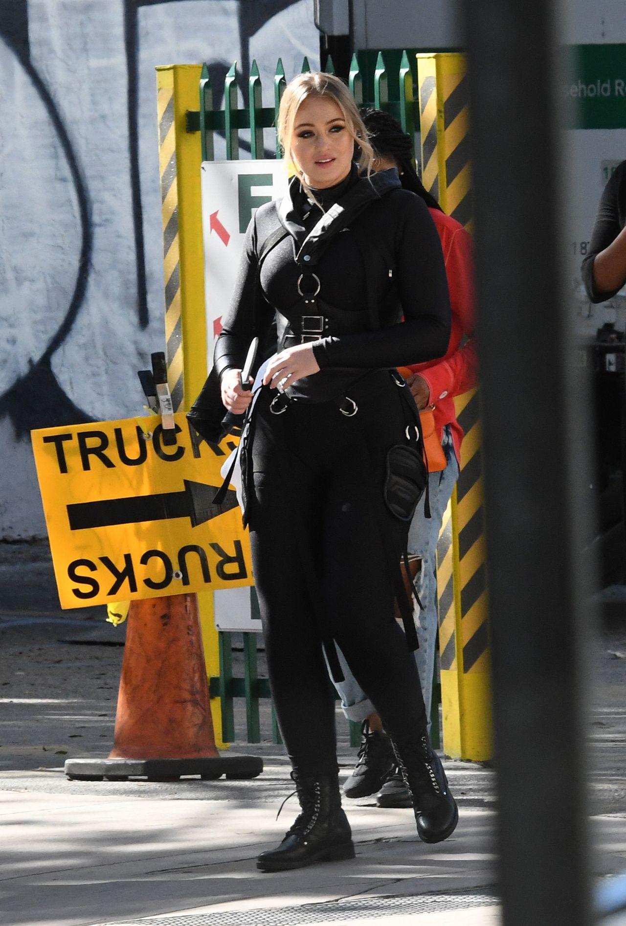 Iskra Lawrence In A Bondage Inspired Outfit Secret