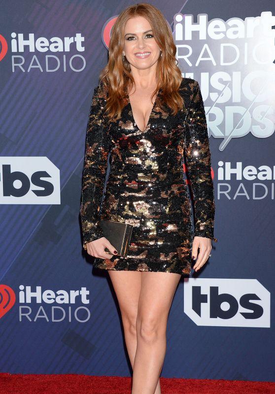 Isla Fisher – 2018 iHeartRadio Music Awards in Inglewood