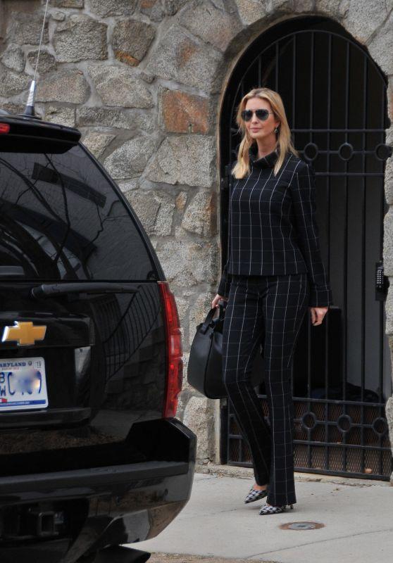 Ivanka Trump - Heads to Work in Washington, DC 03/06/2018