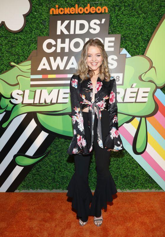 Jade Pettyjohn – 2018 Kids' Choice Awards
